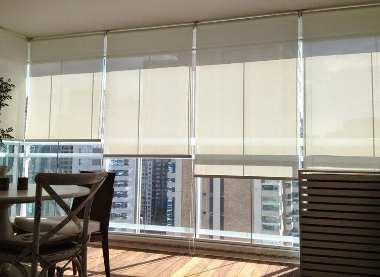 Cortina Tela Solar Para Sacada Casa Criativa - Tela-para-cortina